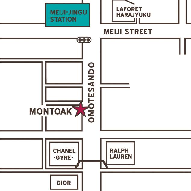 MONTOAK地図